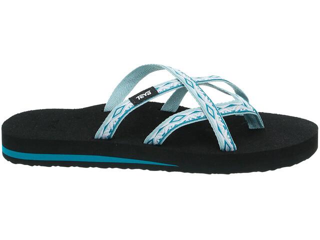 Teva Olowahu Sandals Women Sari Ribbon Gray Mist